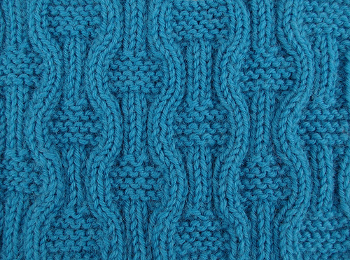 Knitted Patterns : The teleology of knitting patterns Found Objects